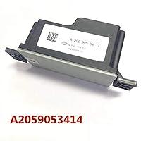運転席側ウィンドウスイッチ A2059053414カー電圧トランス電圧コンバータ2059053414フィット感のためのメルセデス/ベンツC E SクラスW205 W213 W222ブラックConvenrter (Color : Black)