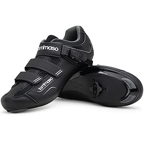 Tommaso Strada 200 Dual Cleat Compatible Indoor Cycling Class Ready Bike...