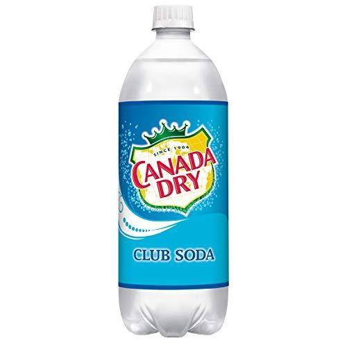 Canada Dry Club Soda, 1 Liter Bottle