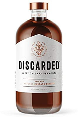 Discarded Sweet Cascara Vermouth Bottle, 50cl