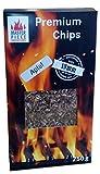 """Masterpiece """"Premium-Chips aus Apfelholz"""" - Apfel Smoking Räucherchips - 100% Natürliches Smoker-Holz - Größe ca. 10 mm – Räucherspahn Räucherspäne Räuchermehl Verpackung ca...."""