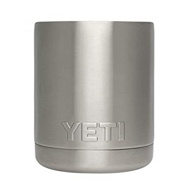 YETI Rambler Lowball 10 oz Stainless Steel Cup with Lid