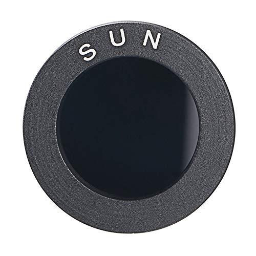 Accesorios para telescopios astronómicos Filtros solares Negros de 1.25