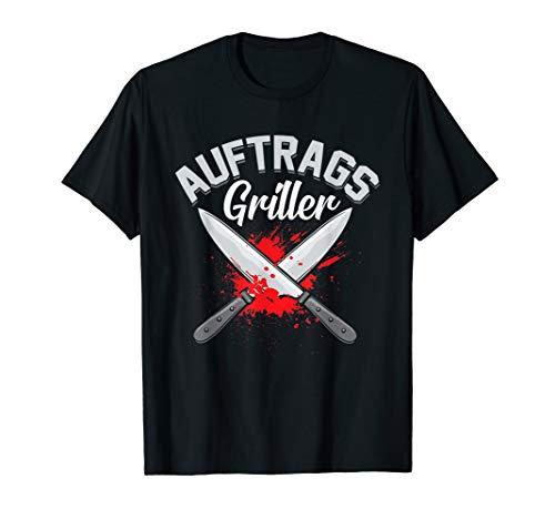 Herren Auftragsgriller - Grillshirt für echte Männer & Grillmeister T-Shirt