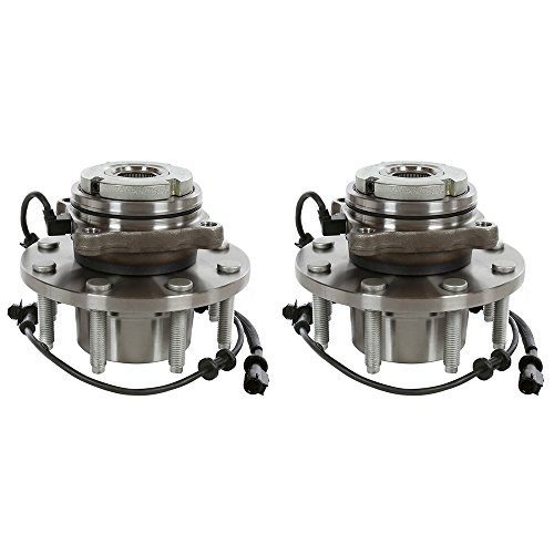 AutoShack HB615022PR Pair of 2 Wheel Bearing Hub Front Driver and Passenger Side...