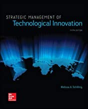 Best strategic management of technological innovation 5th edition Reviews