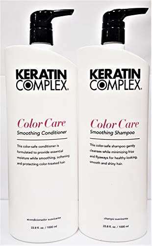 Keratin Complex Color Care Shampoo and Conditioner Set, 33.8 Fl Oz
