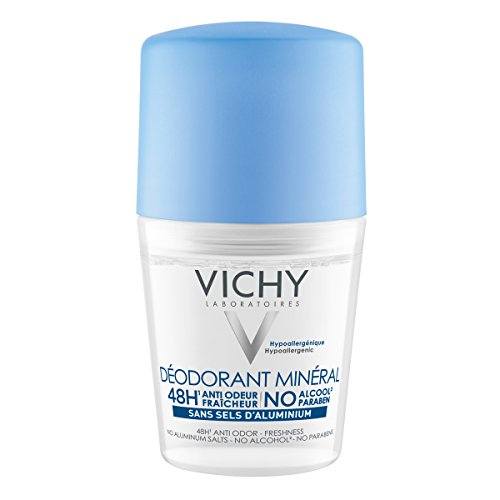Vichy 48h Mineral Deo Roll-on ohne Aluminiumsalze, 50 ml