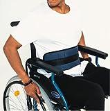 Cintura addominale di sicurezza comfort per sedia a rotelle o sedia ginerica – Alta protezione anti-caduta (taglia universale regolabile)