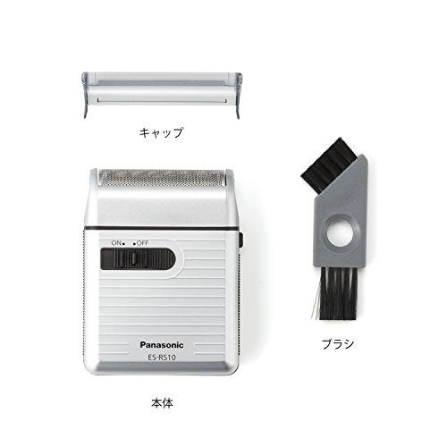 パナソニックメンズシェーバー1枚刃シルバー調ES-RS10-S
