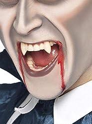Ofertas Tienda de maquillaje: Incluye Colmillos funda de diente, blancos, colmillos de vampiro Disponible en solo un tamaño Nuestro equipo interno de seguridad asegura que todos nuestros productos son manufaturados y rigurosamente testados para cumplir con los estándares y regula...