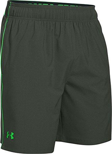 Under Armour HeatGear Mirage pantaloncini da uomo, 20,3 cm, Uomo, Nova Teal/Black, S