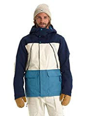 Regular fit is just right: Not too tight or too baggy; DRYRIDE two-layer fabric [10,000MM, 10,000G] is waterproof and breathable for outstanding weather protection Living Lining helps regulate your temperature; Fully-taped seams lock out the elements...
