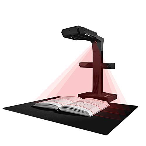 LIQIANG Buchscanner, hochauflösendes A3-Buch ohne Rand, 18 Millionen Pixel, OCR-Texterkennung, kompatibel mit Windows und Mac OS