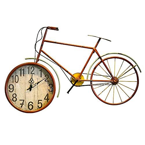 Orologio Da Parete In Ferro Battuto Per Bicicletta, Vecchio Orologio Da Parete, Diametro orologio 12 Pollici, Orologio Decorativo Ornamenti Creativi