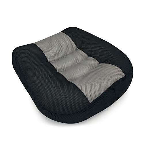 KKPLZZ Car Booster Cushion, Non-slip Heightening Height Booster Mat Car Passenger Seat Booster, Soft Chair Cushion Pad For Car Office Home