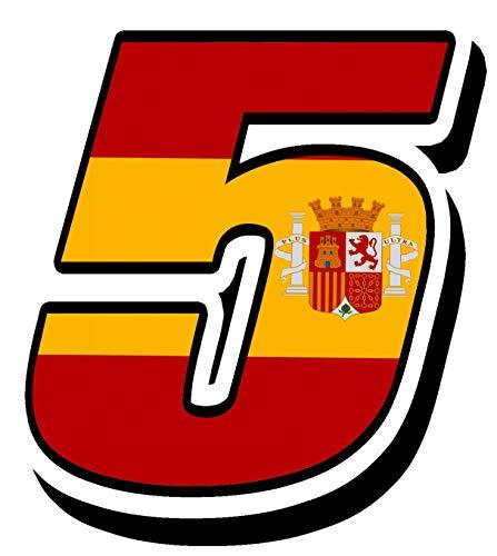 Biomar Labs® Número 5 Bandera Nacional España Spain