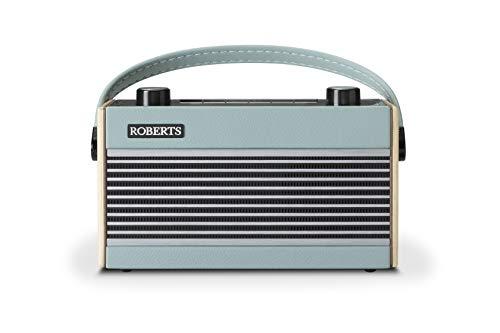 Roberts Radio Rambler BT rétro portable DAB+/FM(RDS) avec Bluetooth bleu ciel