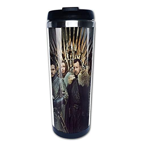 Taza de café de acero inoxidable con aislamiento de Game of Thrones Cup