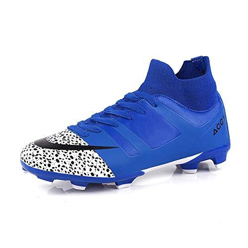 Zapatos de fútbol profesional de los hombres, tacos de fútbol base shoes-...
