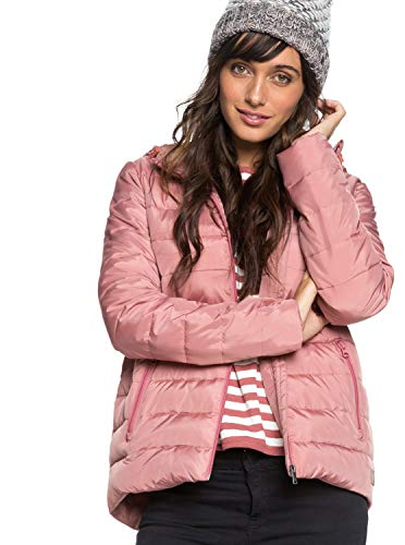 Roxy Rock Peak Chaqueta, Mujer, Rosa (Withered Rose MMG0), Small (Tamaño del Fabricante:S)