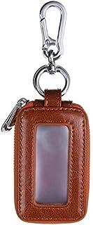 Key Case for Car - New Double Layers Car Keys Bag Home Keys Holder PU Leather Storage Organizer Wallet Case Car Key Case P...