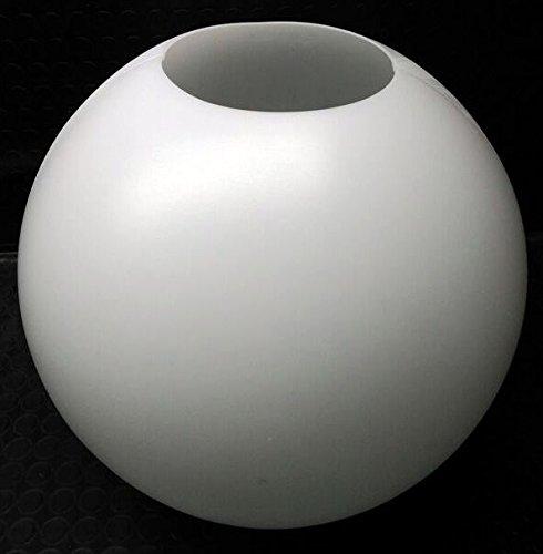Globo iluminación polietileno/politeno blanco Diámetro 45 centimetros solo boca 17 centimetros