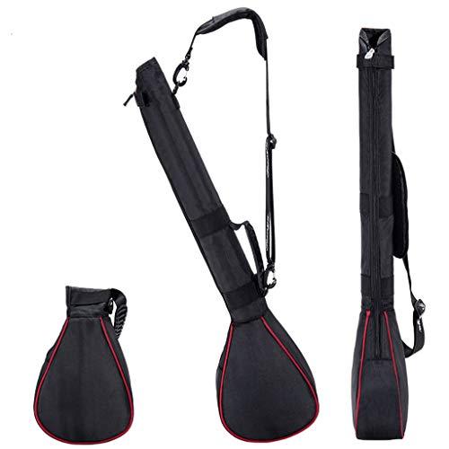 Faltbare Damen Golftasche Kleine Waffentasche Leichte, extrem strapazierfähige Nylongewebe Golf Stand Bag Strap wasserdichte Golfzubehörtasche