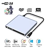 SAKURAM Lecteur De CD DVD Externe Graveur Lecteur Portable Ecteur Optique, pour Macbook...