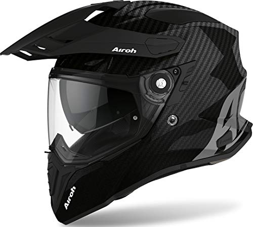 Airoh HELMET COMMANDER CARBON FULL GLOSS XL, full carbon gloss