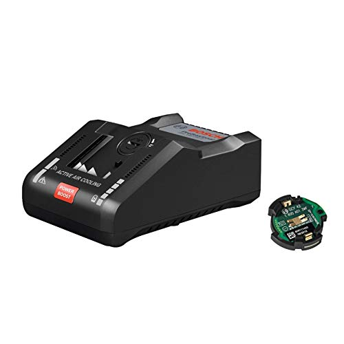 Bosch Professional 18V System Akku Ladegerät GAL 18V-160 C (16A Ladestrom, mit Connectivity Modul, im Karton)