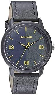 سوناتا فولت+ ، مقاومة للماء، ميناء متعدد الالوان، ساعة رجالي