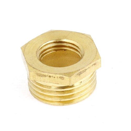 Messing klei metaal 49/162,6 cm X 29/162,6 cm Hex bus Reducer buisverbinder