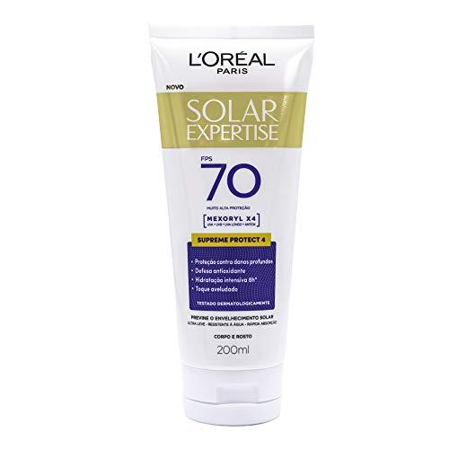Protetor Solar Expertise FPS 70, L'Oréal Paris, 200ml