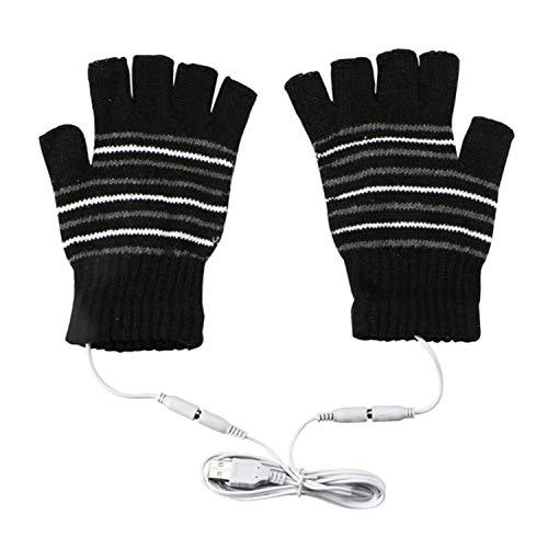 手袋 USB接続で加熱 あったか手袋 パソコン作業 PC モバイルバッテリーなど 洗えるUSBヒーター手袋 防寒対...