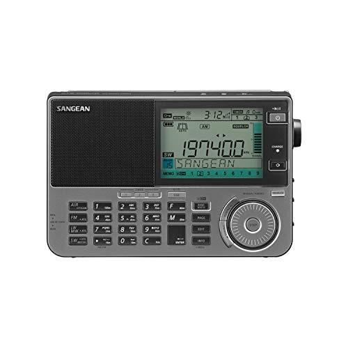 Sangean ATS-909X2 Profi Weltempfänger mit UKW Stereo, versch. Farben Schwarz