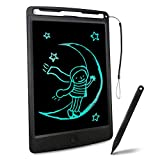 Richgv LCD Writing Tablet, 8.5 Inch Electronic Graphics Tablet Ewriter Board with Lanyard Mini Drawing Pad Gifts Suitable for Kids and Adults Black