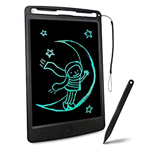 Richgv LCD Writing Tablet, 8.5 Inch Electronic Graphics Tablet Ewriter Board with Lanyard Mini Drawing Pad Gifts…