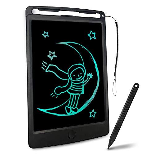 Richgv Tavoletta Grafica LCD Scrittura Digitale, Elettronico 8.5Pollici Portatile Ewriter Cancellabile Disegno Pad Writing Tablet con Stilo per Bambini Adulti della Casa Scuola Ufficio