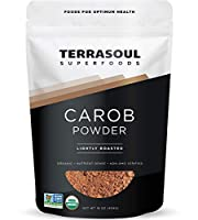 Terrasoul Superfoods Carob Powder (キャロブパウダー) 16 oz (454g)