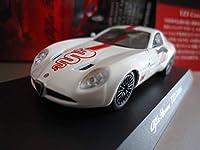 京商 サークルKサンクス1/64 アルファロメオ ミニカーコレクション4TZ3 Corsa ホワイト