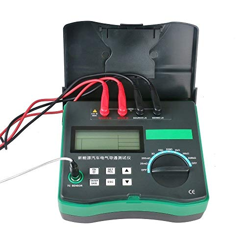 Best Prices! YJXUSHYQ Automotive Circuit Resistance Tester Electrical Car Test Micro ohm Meter Resis...