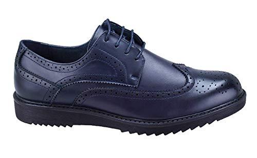scarpe francesine uomo Evoga Scarpe parigine uomo casual eleganti calzature francesine man's shoes (44