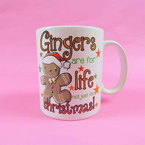 N\A Ingwer sind für das Leben Nicht nur für Weihnachtsbecher Lebkuchen Rotschopf Ingwer Ingwer Brot Mann Ingwer Männer Rotschopf Lustiges Geschenk