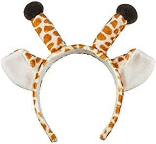 Sponsored Ad - Crazy Night Cute Giraffe Ears Headband Christmas Antler Headband