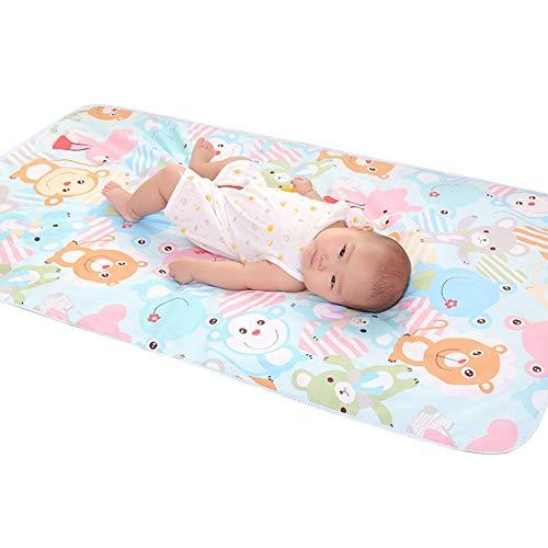 Cuscino pannolini fasciatoio 23.62 * 35.43in impermeabile traspirante neonato materasso urina pannolino pannolino(Orso)