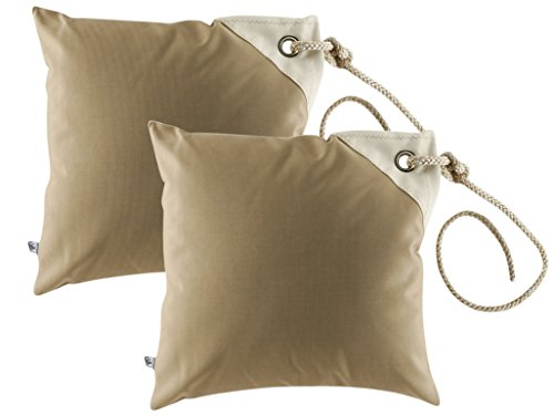 Marine Business Set fodere impermeabili per cuscino -40cm x 40cm - beige