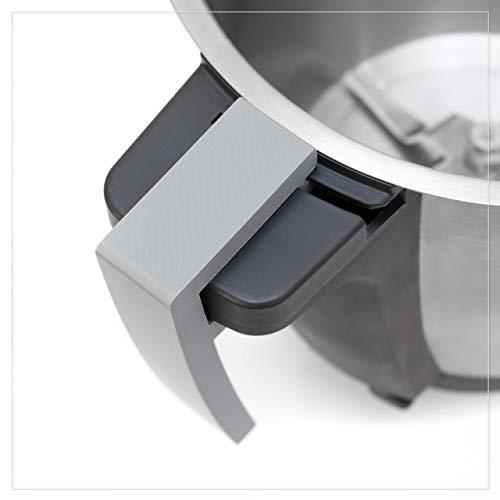 Coolina® Maniglia It, per pentola mista Monsieur Cuisine Connect (MCC) (grigio)