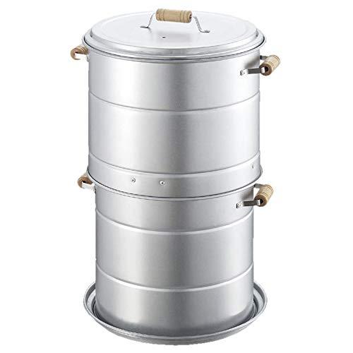キャプテンスタッグ(CAPTAINSTAG)燻製器ブランロングスモーカーセット円筒型スモーク対応M-6509
