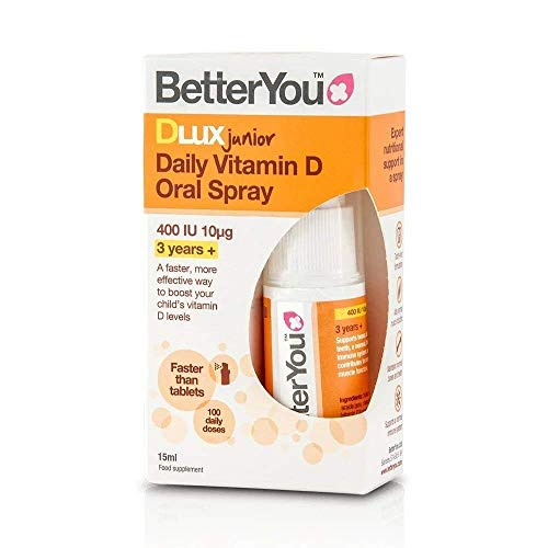 BetterYou DLux Junior Daily Oral Spray 15ml (Pack of 3)